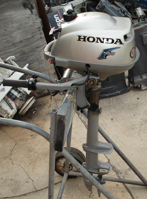 Honda outboard motor 4hp used outboard motors for for Small honda motors for sale