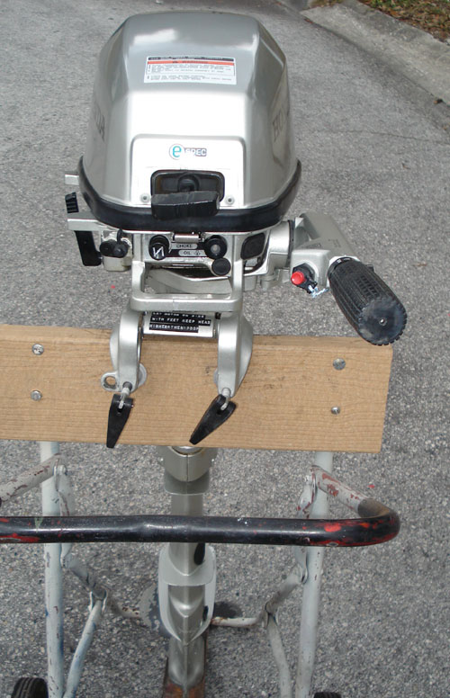 5 hp Honda Long Shaft Outboard For Sale.