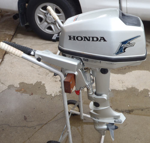 5 hp honda boat motor for sale for Small honda motors for sale