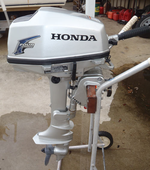 4 cycle used outboards autos post for Small honda motors for sale