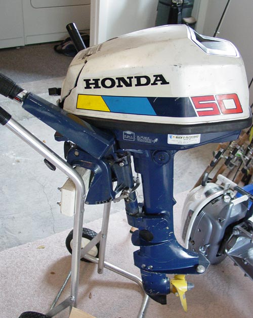 5 hp honda bf 50 outboard boat motor for sale 4 cycle for Honda outboard motors for sale used