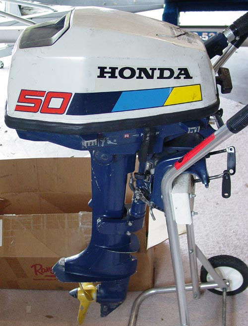 5 hp honda bf 50 outboard boat motor for sale 4 cycle for Small honda motors for sale