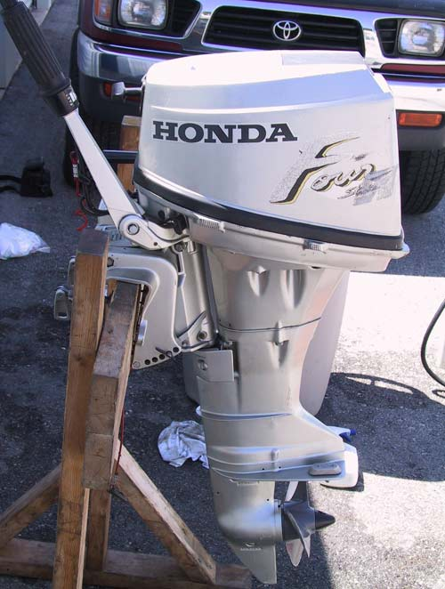 Used 8 hp honda 4 stroke outboard boat motor for New honda boat motors