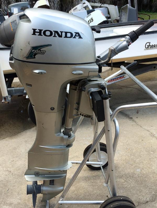 8 Hp Honda Outboards Four Stroke Hondas