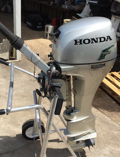 8 hp honda outboards four stroke hondas for Honda outboard motor prices
