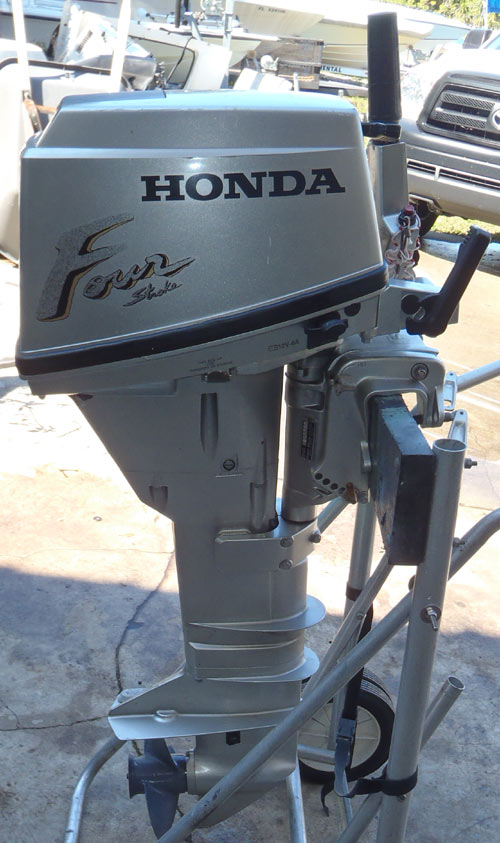 9 9 Hp Honda Outboard 4 Stroke For Sale