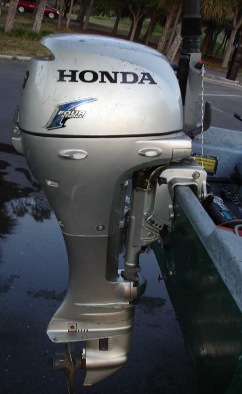 Honda Boat Motors >> 9.9 hp Honda Outboards Four Stroke Hondas