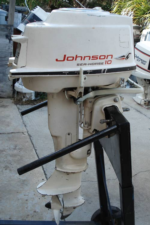 Types Of Motor >> Johnson 10 hp