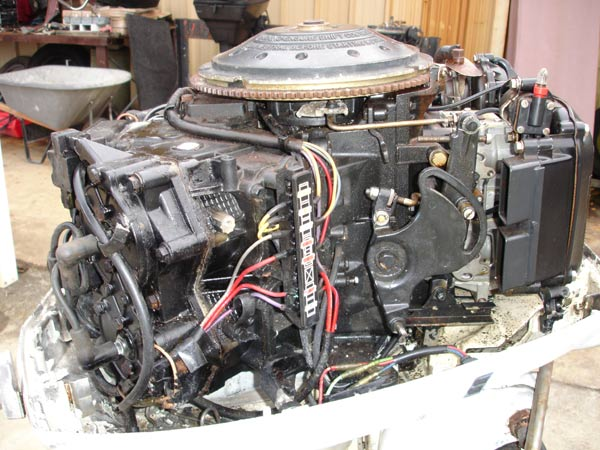 110 hp Johnson Outboard Boat Motor For Sale