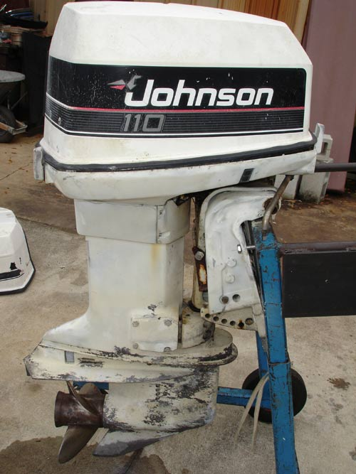 110 hp johnson outboard boat motor for sale rh smalloutboards com 1994 Johnson 150 HP Outboard Johnson Outboard 70