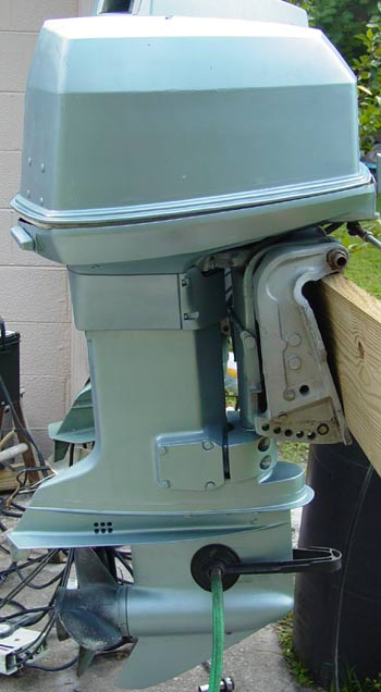 1999 Johnson 115 HP Outboard http://www.smalloutboards.com/j115.htm