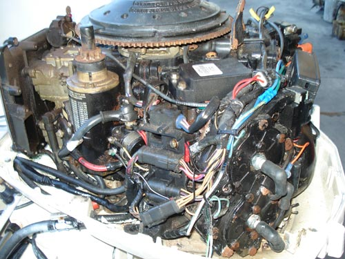 115 hp Johnson Outboard Boat Motor For Sale
