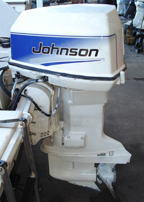 115 hp johnson outboard boat motor for sale for Johnson evinrude outboard motors for sale