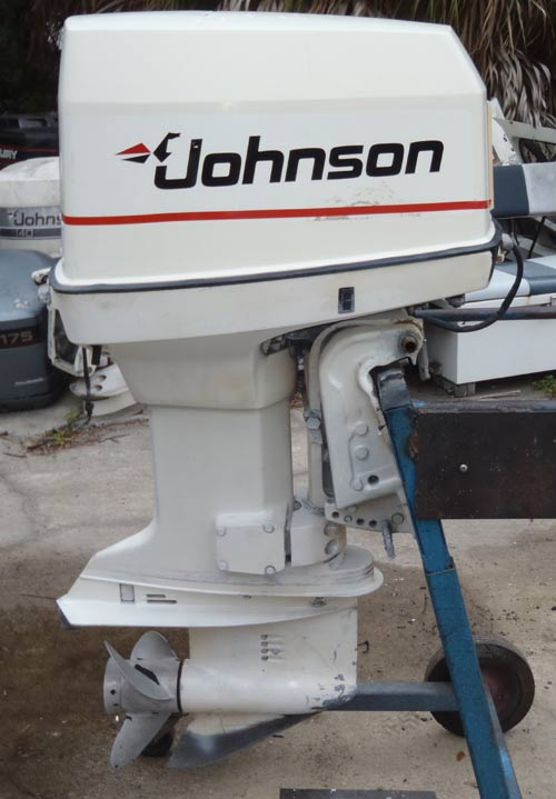120 Hp Johnson Looper Outboard Boat Motor For Sale