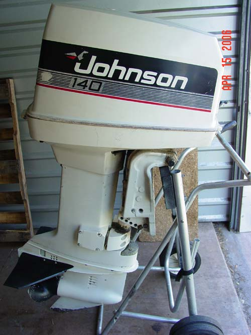 Johnson Boat Motor Oil All Boats