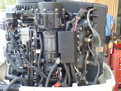 150 HP Johnson Ocean Runner http://www.smalloutboards.com/j15097.htm