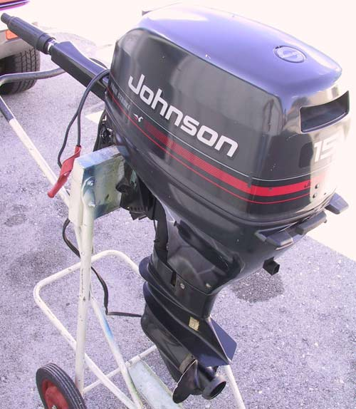 Used Evinrude Johnson 15 Hp 4 Stroke Outboard For Sale Boat Motor For Sale
