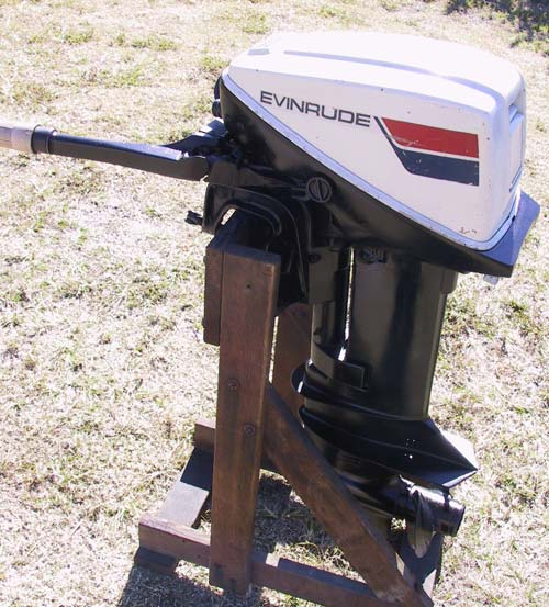 used 15 hp omc johnson evinrude boat engine for sale