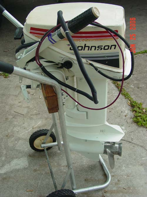 15 Hp Johnson Outboard Electric Start