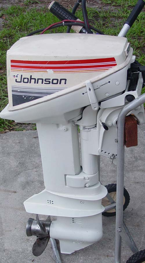 Evinrude 15 Hp >> 15 hp Johnson Outboard Electric Start