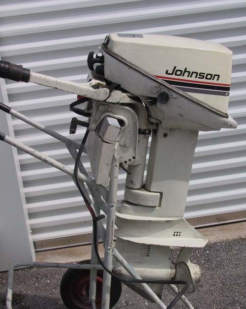 Used johnson 15 hp outboard boat motor for sale for 15 hp electric boat motor