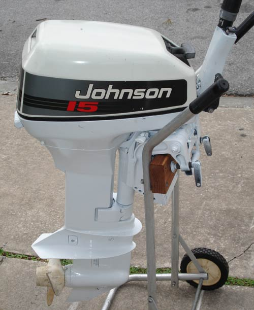 How to tell the year of a johnson outboard motor for Small boat motor repair