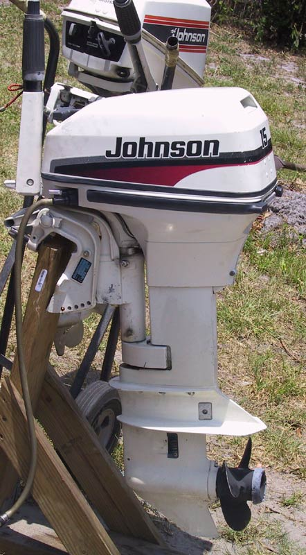 1998 Johnson 15 Hp Outboard Boat Motor Used Johnsons Outboards