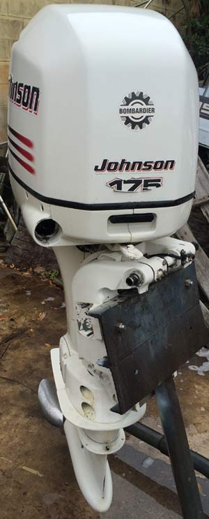 Engine For Sale >> 175 hp Johnson Outboard Motor For Sale