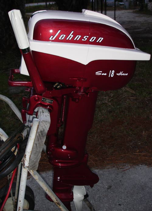 restored johnson 18 hp outboard boat motor for sale rh smalloutboards com