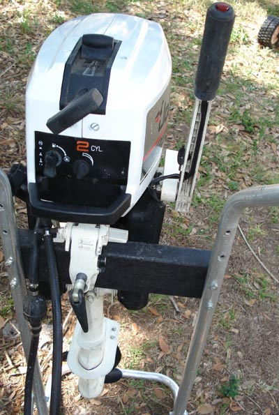 Used 2 5 hp johnson outboard boat motor johnson 3 hp for 5hp outboard motor for sale