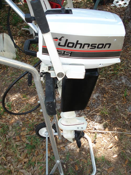 Johnson Boat Motors >> Used 2.5 hp Johnson Outboard Boat Motor - Johnson 3 hp