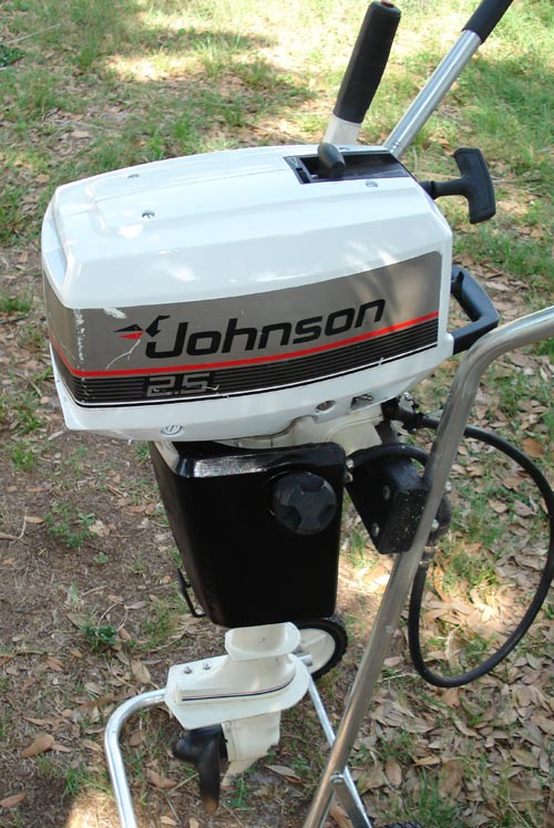 Used 2 5 Hp Johnson Outboard Boat Motor Johnson 3 Hp Outboards