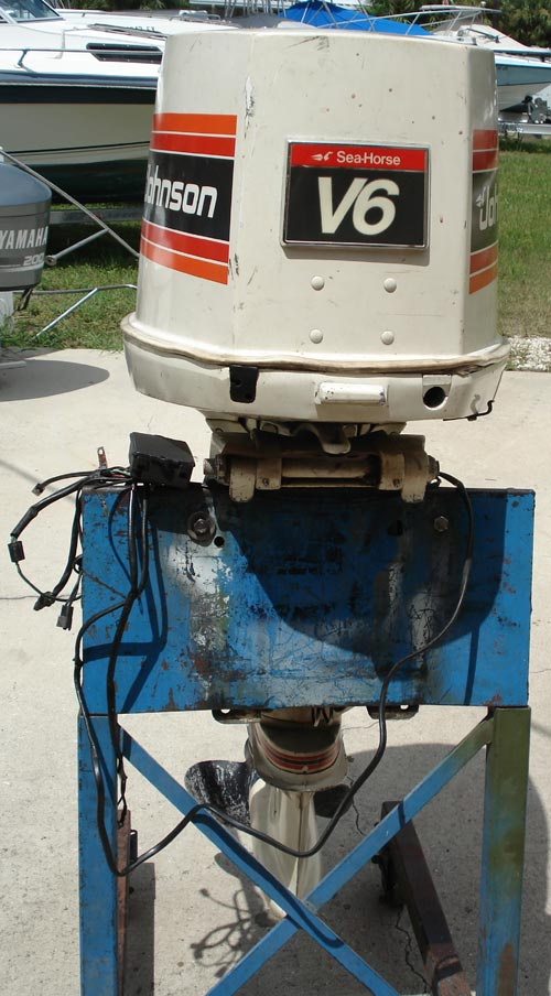 Johnson Outboard Motor Parts >> 200 hp Johnson Outboard Boat Motor For Sale Looper V 6