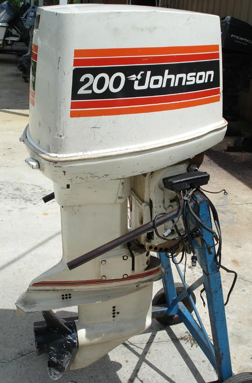 200 hp johnson outboard boat motor for sale looper v 6
