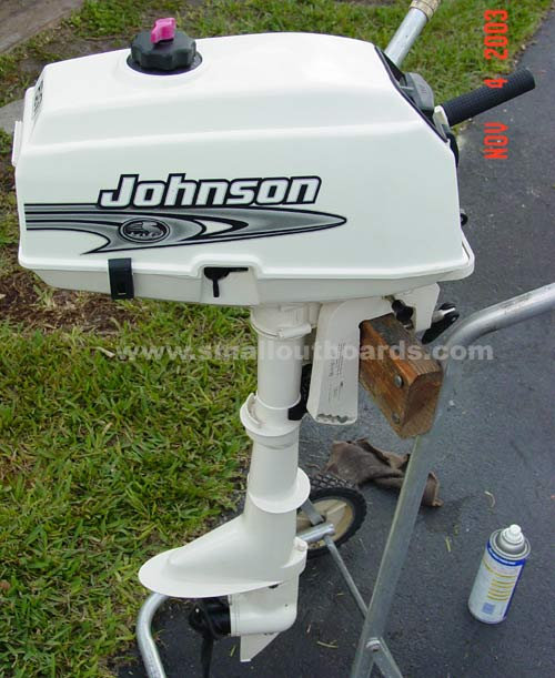 Used Small Boat Engines For Sale: Johnson 2 Hp 2001 Outboard Boat Motor