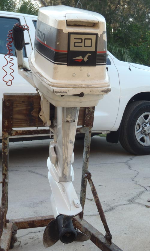20 Hp Johnson Outboard For Sale