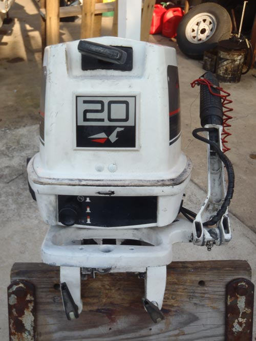 Johnson Boat Motors >> 20 hp Johnson Outboard For Sale