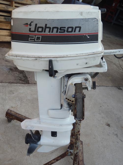 outboard johnson hp motor 20hp boat mercury manual ship timing smalloutboards owners