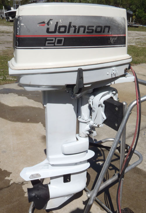 johnson 20 hp outboard for sale