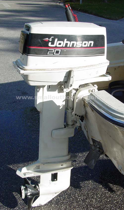 Motors For Sale >> 20hp Johnson Long Shaft Outboard Used Johnson Outboards