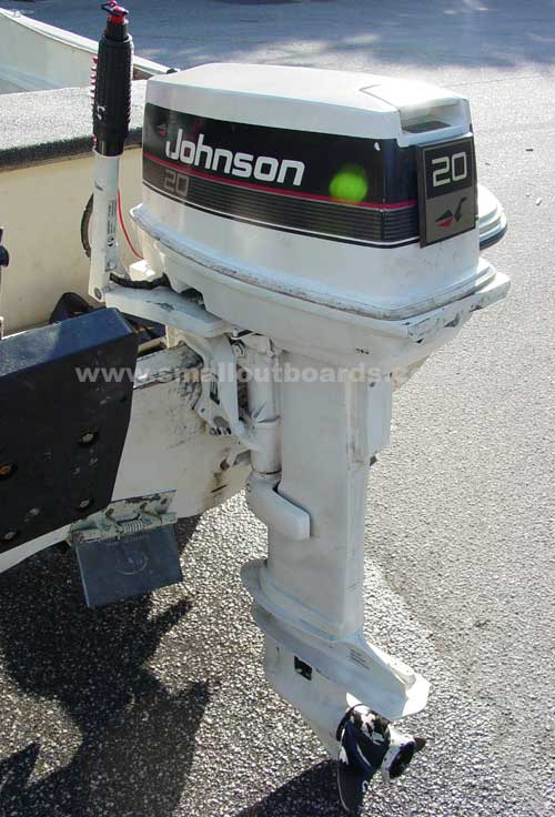 Used Car Parts For Sale >> 20hp Johnson Long Shaft Outboard Used Johnson Outboards