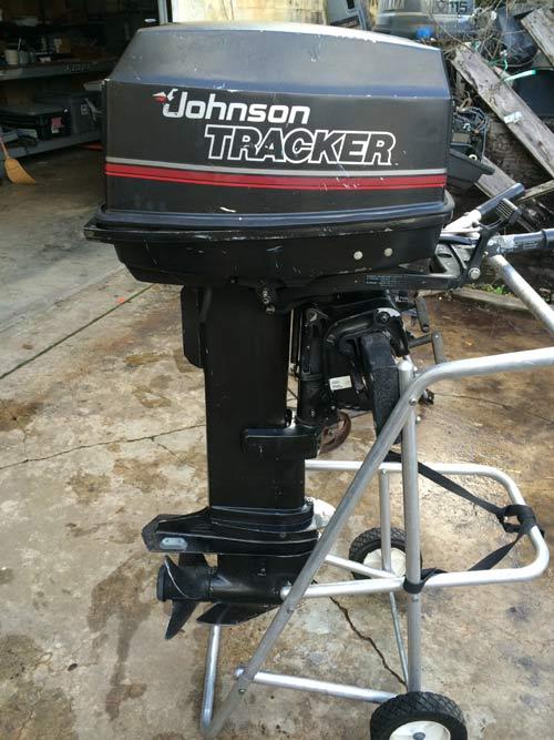 Johnson 20 Hp Tracker Long Shaft