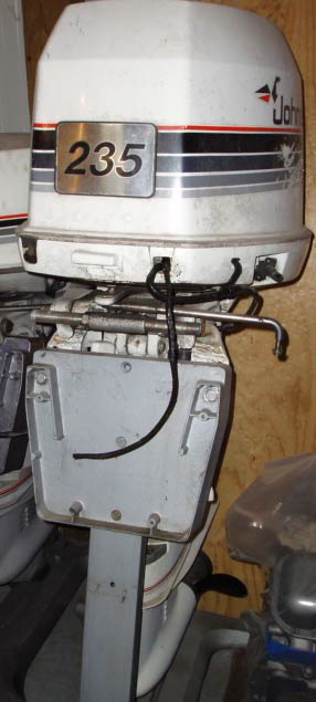 235 hp Johnson Outboard Boat Motor For Sale Looper V 6