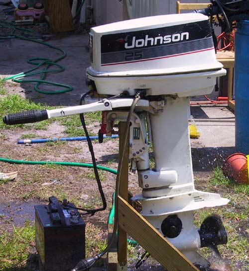 Used johnson 25 hp outboard for sale johnson outboards for New johnson boat motors for sale