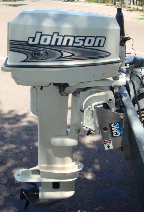 Used 1999 johnson 25hp long shaft outboard for sale for 25 hp johnson outboard motor
