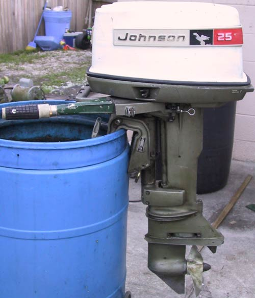 25 hp johnson outboard boat motor for sale
