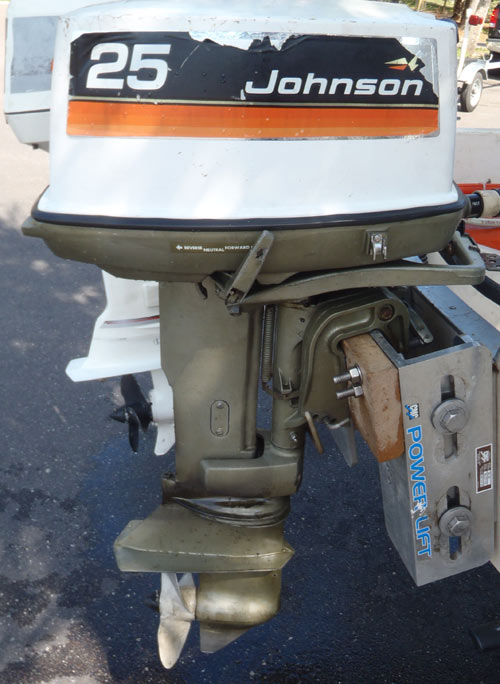 johnson outboard motor 25 hp