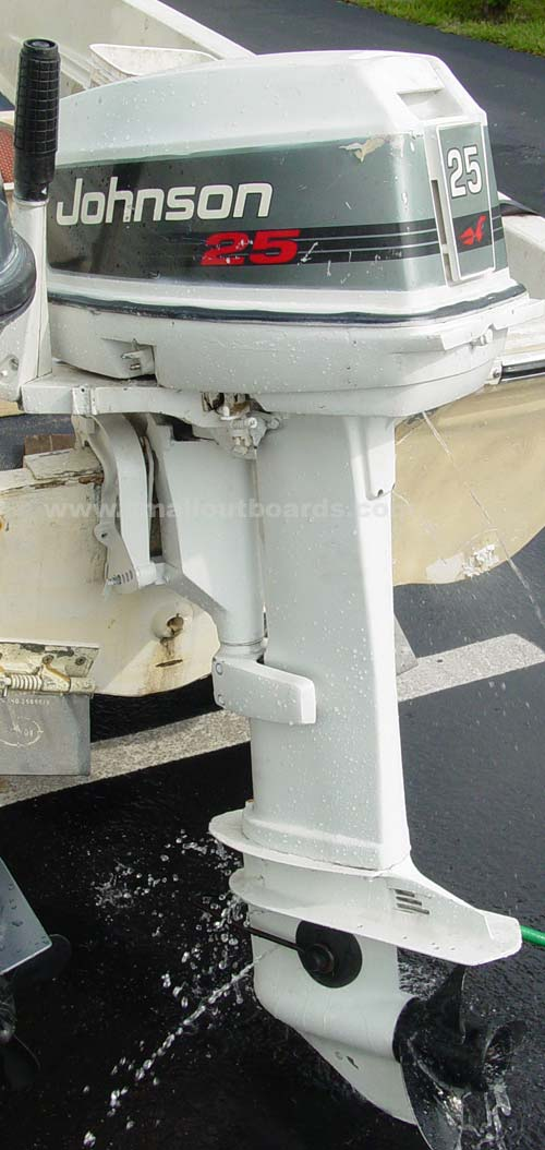 25hp Johnson Long Shaft Outboard Used Johnson Outboards