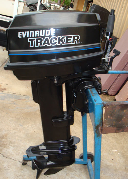 25hp Johnson Tracker Outboard For Sale