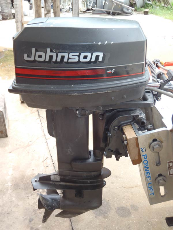 Johnson 25 hp outboard model tj25elese for Boat motor parts near me